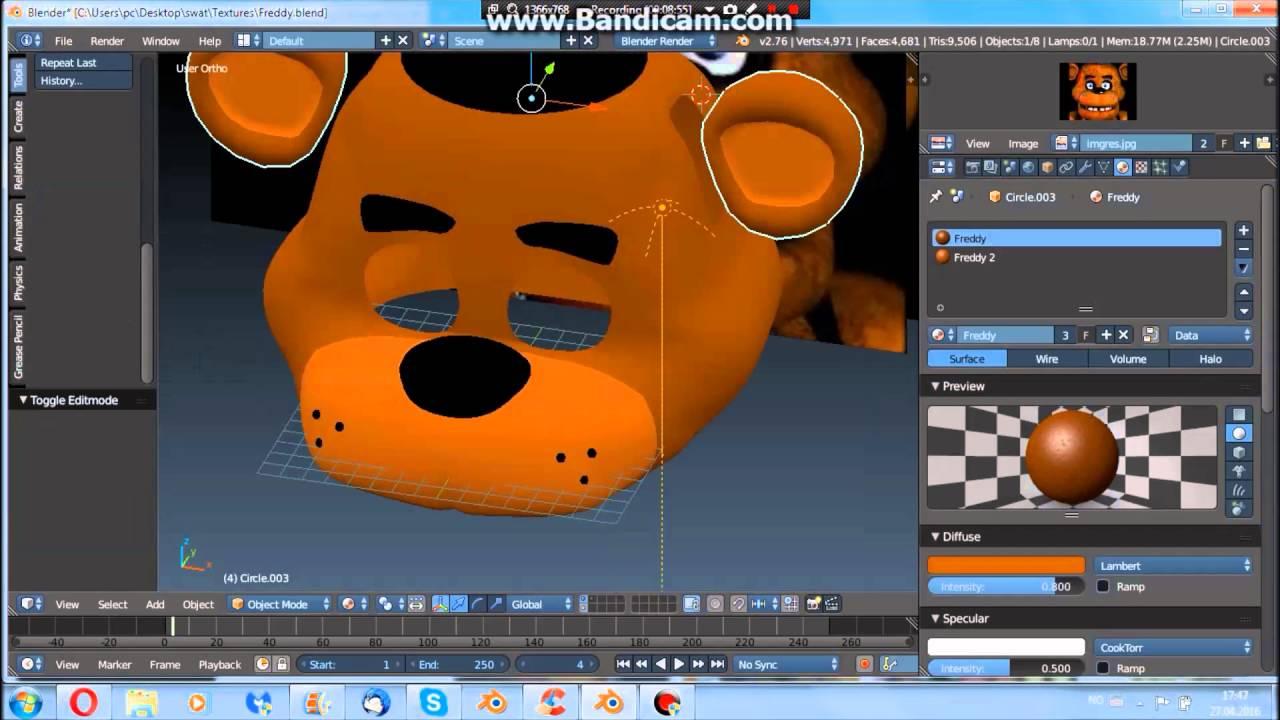 Blender Freddy Timeplase [2/2]