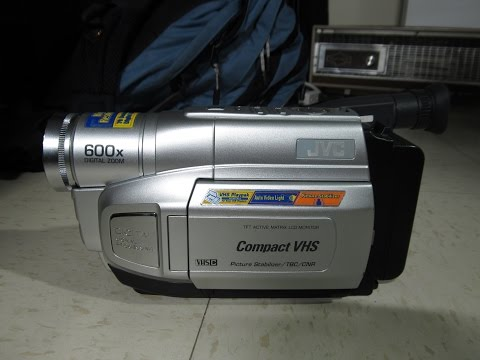 JVC GR-AXM250 VHS-C camcorder (2003)