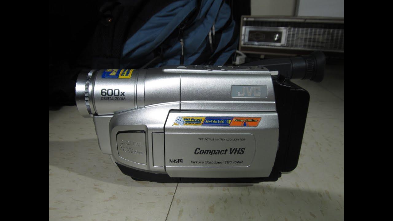 Jvc Gr-axm250 Vhs-c Camcorder  2003