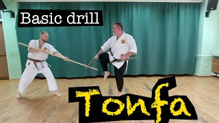 Basic Tonfa drills that will help you learn basic techniques