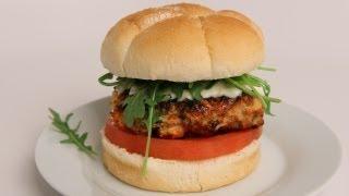 Caprese Turkey Burgers Recipe - Laura Vitale - Laura In The Kitchen Episode 362