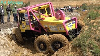 6x6 MAN, Ural Prototype trucks in Europe truck trial | Mont-Saint-Guibert, Belgium 2019