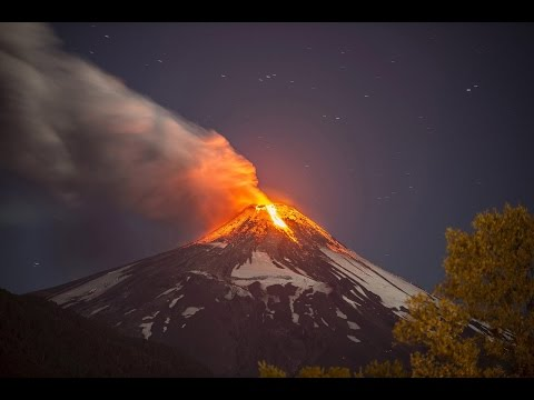 Villarrica volcano erupts in southern Chile