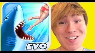 サメがひたすら食らいつく面白ゲーム!Hungry shark PDS