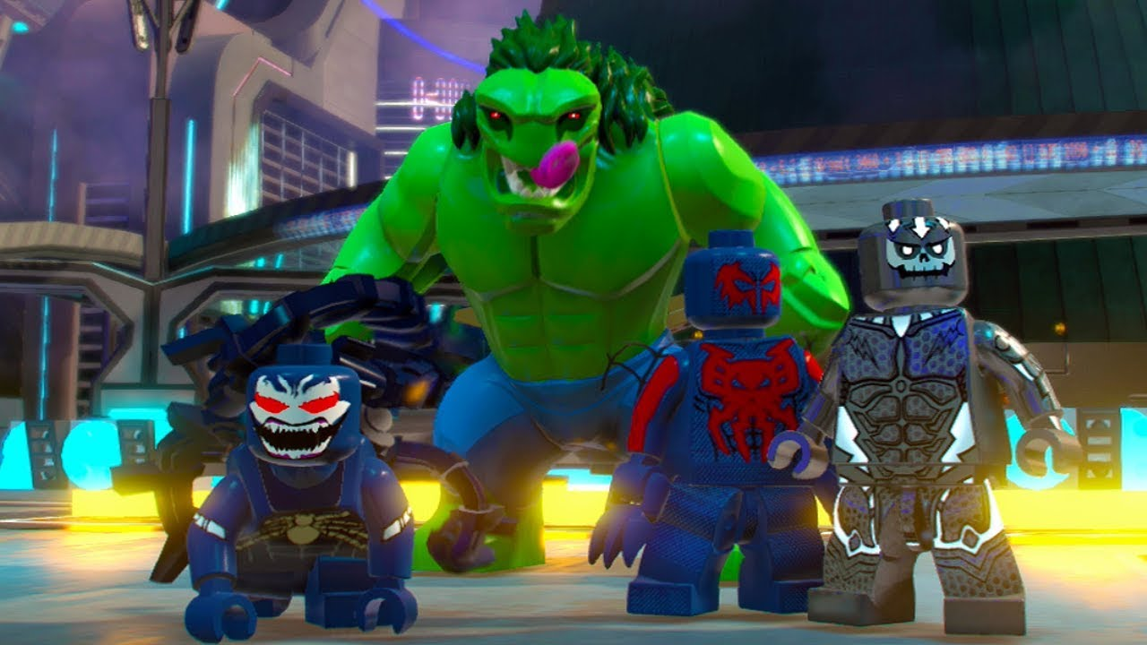 LEGO Marvel Super Heroes 2 - All Marvel 2099 Characters ...