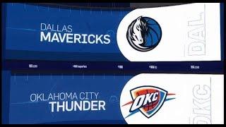 Dallas Mavericks vs Oklahoma City Thunder Game Recap | 12/31/18 | NBA