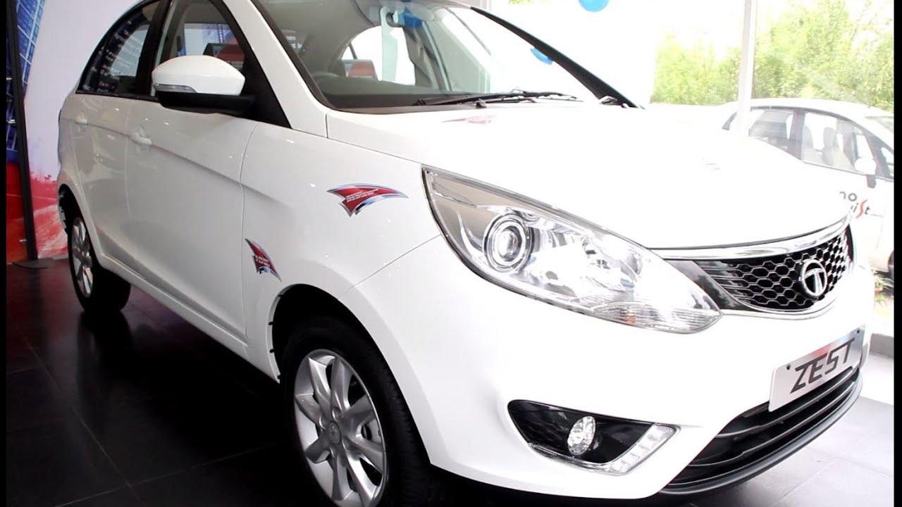 New Tata Zest Revotron Quadrajet Car First Look Youtube