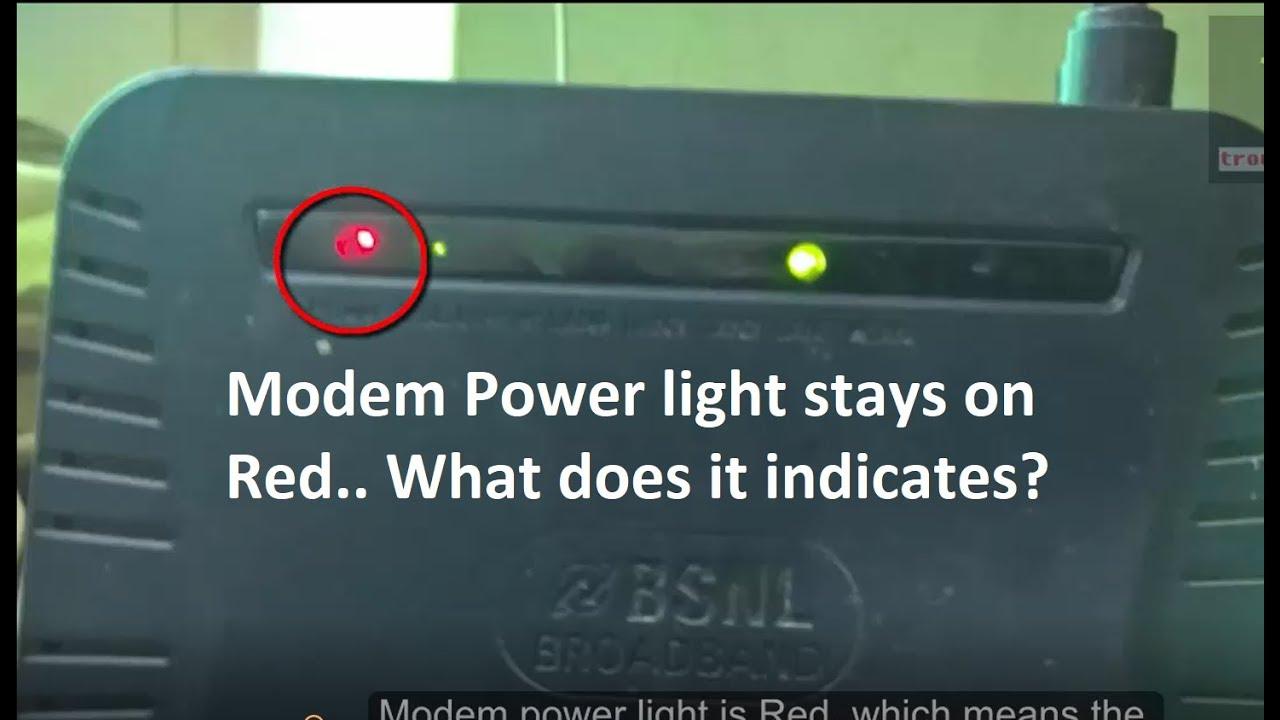 Att Uverse Modem Broadband Light Flashing Red