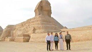 ميلانيا ترامب تزور الأهرامات- (صور وفيديو)