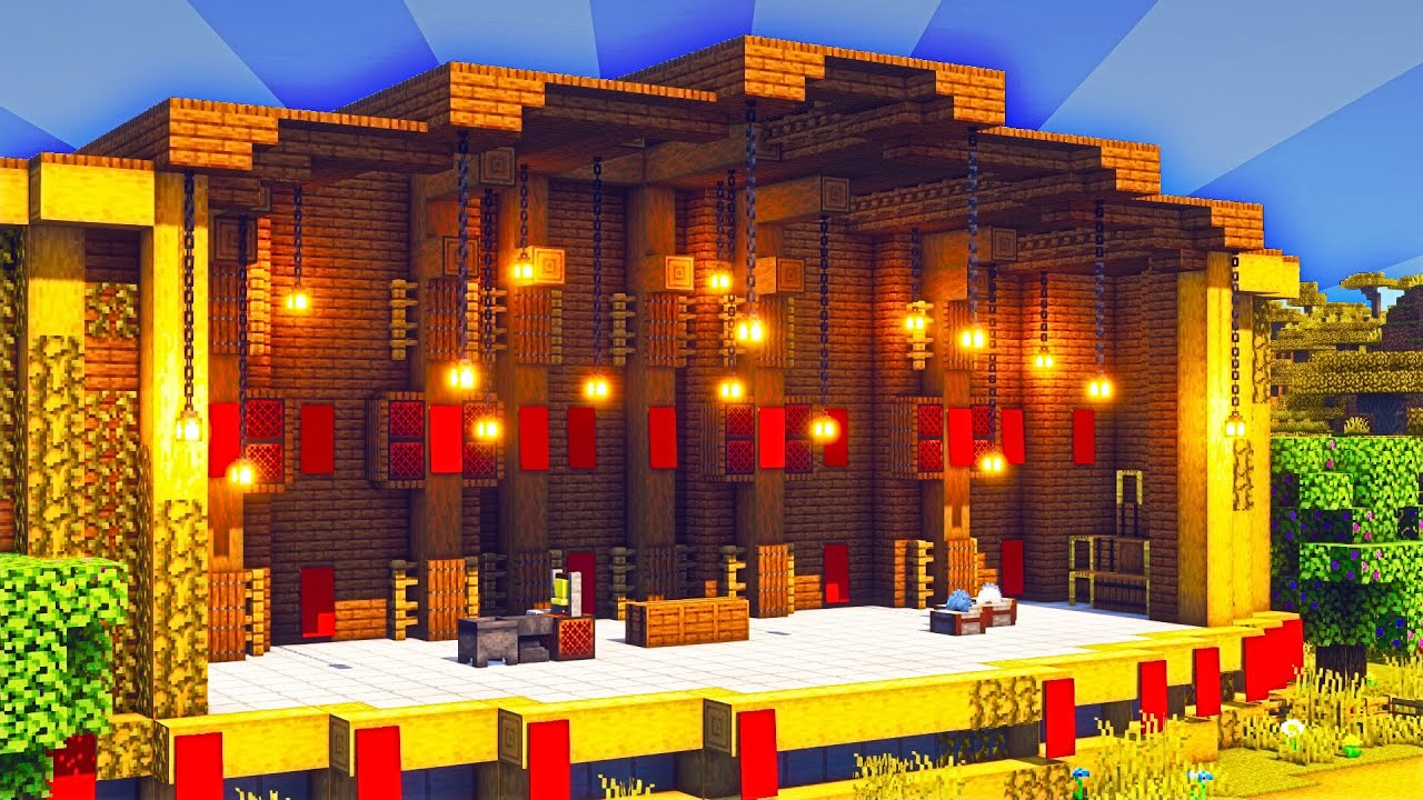 Minecraft Concert Stage #Shorts