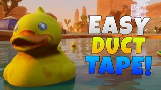 Fortnite How To Farm Duct Tape EASY! | Fortnite Save The World Farming Guide