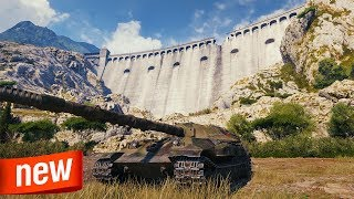 New PROVINCE Map - World of Tanks Object 705A Gameplay