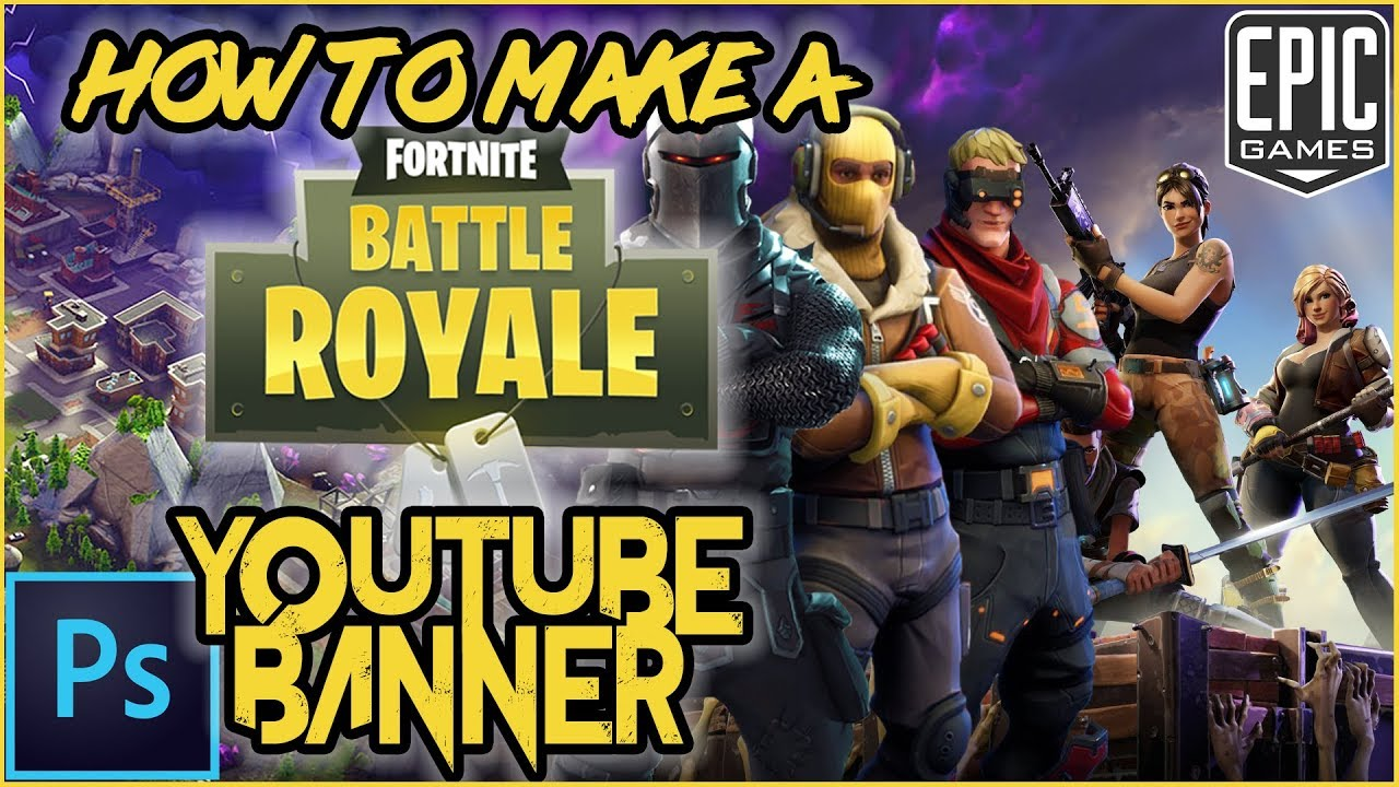 2048 By 1148 Pixels Fortnite Banners: How To Make A Fortnite Youtube Banner