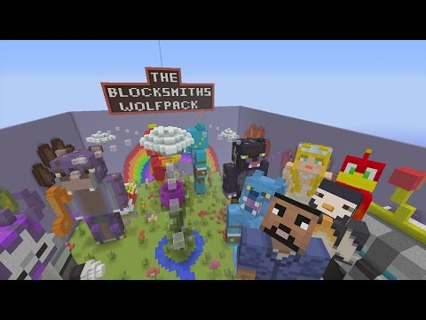 Minecraft Xbox - Hide and Seek - BlockSmith Wolfpack