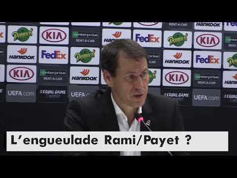 ENGUEULADE Rami/Payet, DÉFAITE contre la Lazio, retour de THAUVIN dimanche : Garcia s'exprime