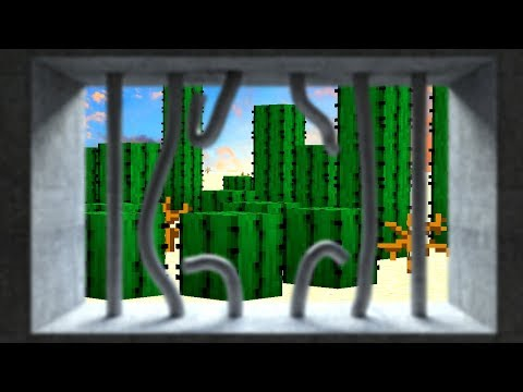 Escaping From Minecraft's Cactus Prison