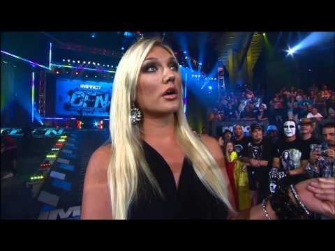 Austin Aries Confronts Brooke Hogan About Bully Ray  Nov 22, 2012