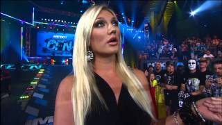 Austin Aries Confronts Brooke Hogan About Bully Ray - Nov 22, 2012