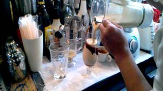 How to make ice coffe with ice cream