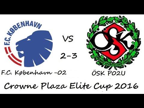 FC København - ÖSK P02U (2-3) Crowne Plaza Elite Cup 2016 (160828)