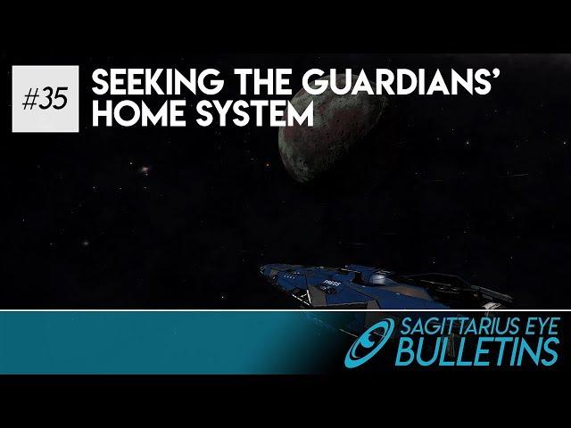 Sagittarius Eye Bulletin - Seeking the Guardians' Home System