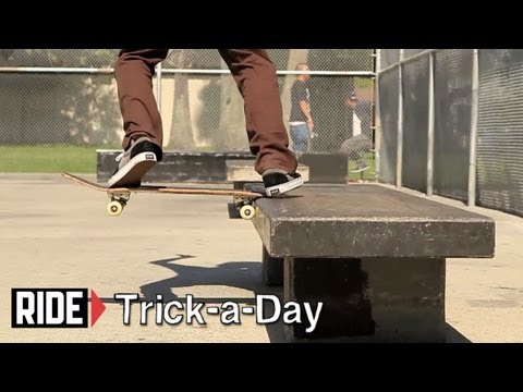 How-To Skateboarding: Fakie Backside Tailslide with Justin Schulte
