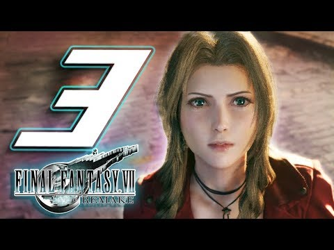 Final Fantasy VII Remake Walkthrough Part 3 Escape Sector Eight (Playstation 4)