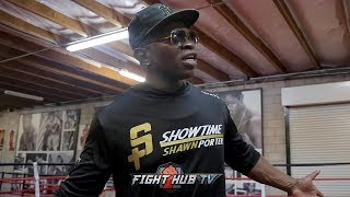 KENNY PORTER DISSECTS ERROL SPENCE'S PAST WINS & FIGHTS & HOW THE WERE PICKED TO MAKE HIM LOOK GOOD