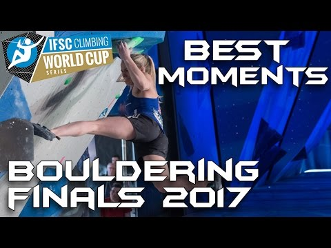 IFSC Climbing World Cup Meiringen 2017 - Bouldering - Finals - Best Moments