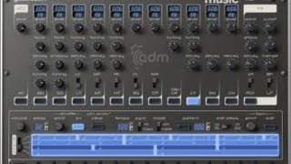Free drum machine plugin: AudioRealism ADM CM (Computer Music 178)