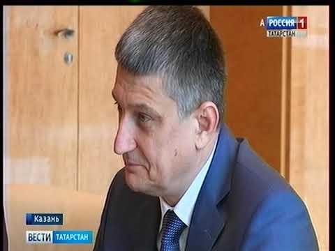 Рустам Минниханов встретился с руководителем федеральной службы по регулированию алкогольного рынка