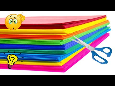 20 DIY Paper Craft Ideas  Amzaing Colored Paper Craft Ideas