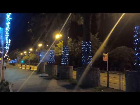 🔔Прогулка по вечернему Лазаревское 14 Января 2020 Сочи 2020 обзор улиц