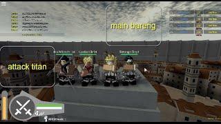 Orang Gede banget | Roblox | Ataque ao Titan | parte 1