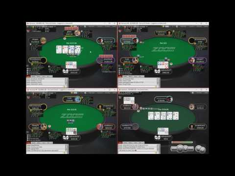 Pot Limit Omaha 500Zoom On PokerStars