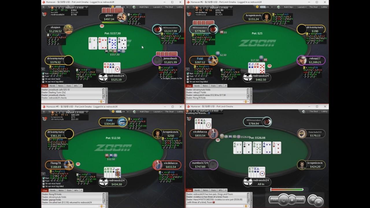 Pokerstars pot limit