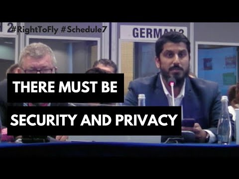 There must be Security AND Privacy: Muhammad Rabbani #RightT