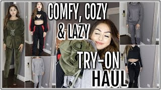 COMFY & COZY LOUNGEWEAR / LAZY DAY TRY-ON HAUL ♡ Adyel Juergensen