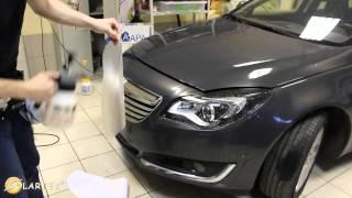 Нанесение защитной плёнки 3M на кузов автомобиля(В этом видео показан процесс нанесения защитной пленки 3М на кузов автомобиля начиная с резки лекала и зака..., 2015-07-01T11:15:49.000Z)