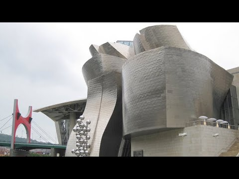 Guggenheim Museum Bilbao, Bilbao, Biscay, Basque Country, Spain, Europe