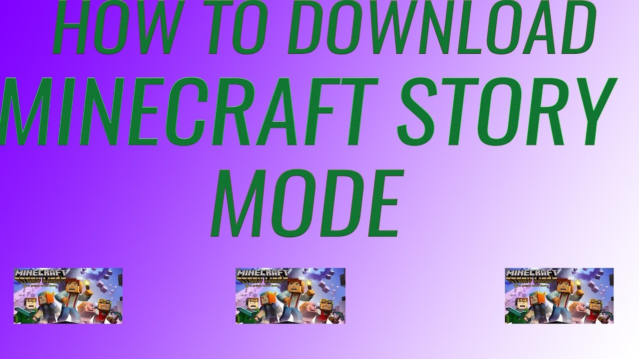 How To Download Minecraft Story Mode For Free