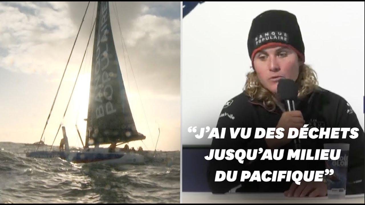 Clarisse Crémer, 12e du Vendée Globe, raconte la pollution vue en mer - LeHuffPost