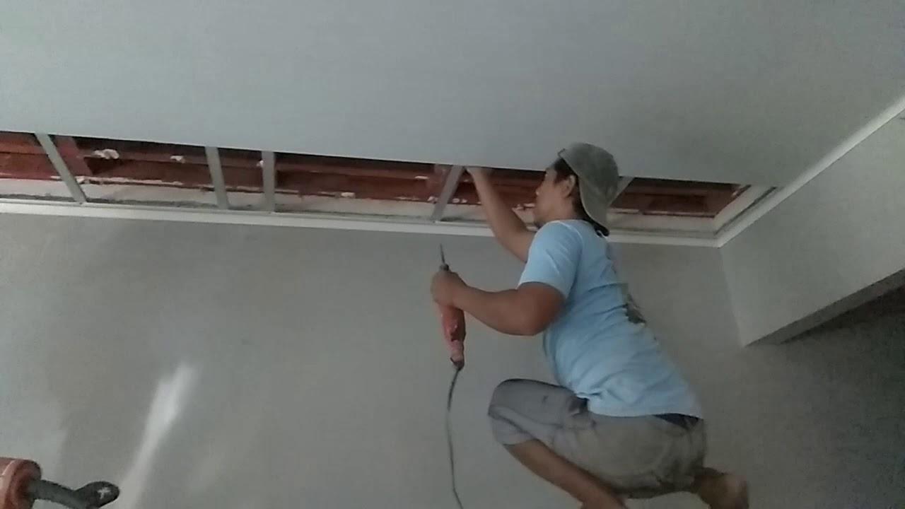 Agen plafon PVC SIP Jawa Timur Cara pemasangan plafon