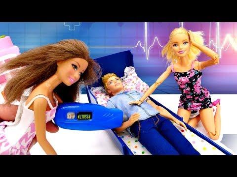Что случилось с Кеном? Тайна Барби раскрыта. Видео с куклами Barbie - Я не хочу в школу 25