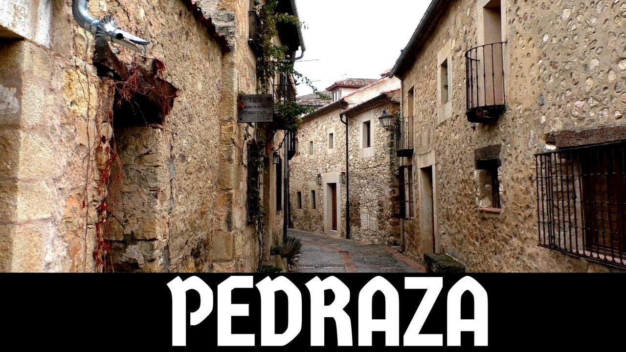 PEDRAZA (Segovia): uno de los PUEBLOS MÁS BONITOS de