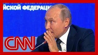 Watch Vladimir Putin troll US on live TV