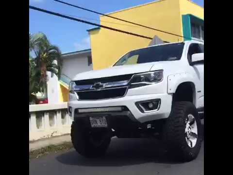 Lifted 2015 Chevy Colorado rollin on 35's - YouTube