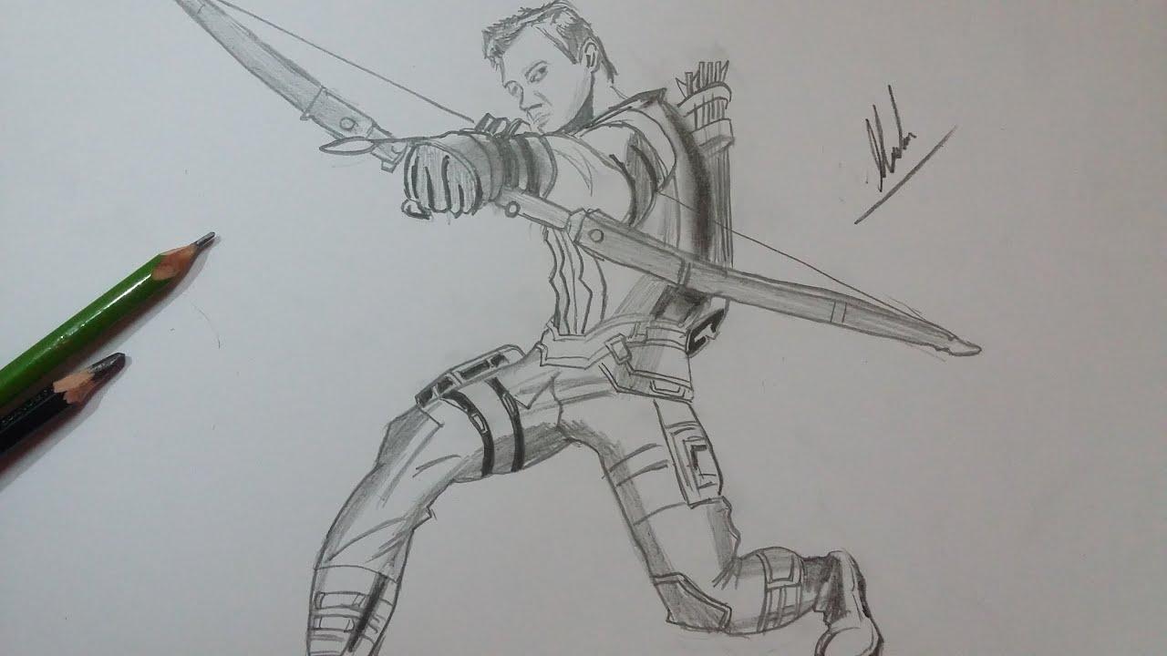 Worksheet. Dibujo de Ojo de Halcn Civil WarDrawing Hawkeye Civil War