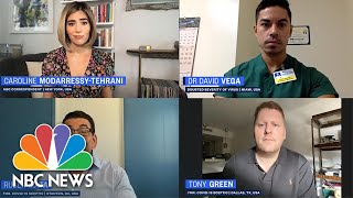 Former Coronavirus Skeptics Describe How Contracting COVID-19 Changed Their Perspective | NBC News