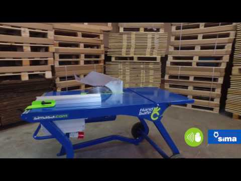 Handsafe, la cortadora de madera más segura:  de SIMA